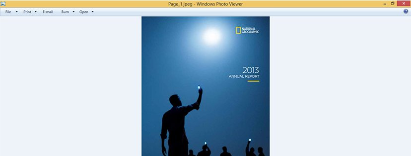 How to Convert PDF to JPEG with Classic PDF Converter step 8