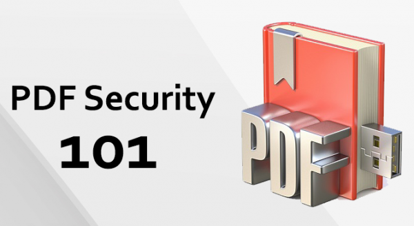 PDF Security 101 – Everything you need to know